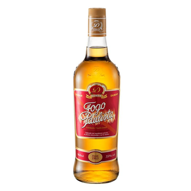 Licor Fogo Paulista 960ml