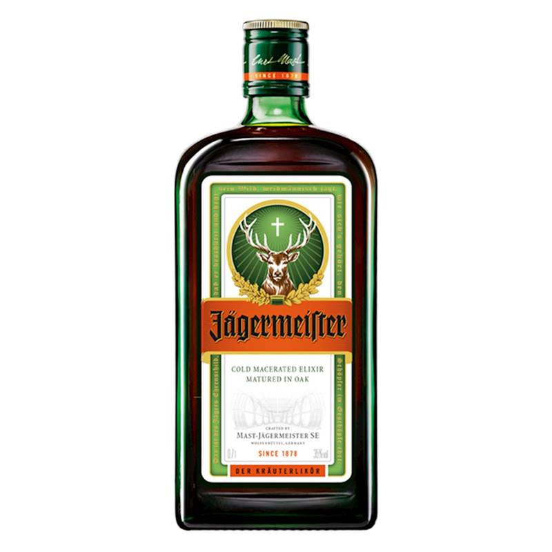 Licor Jagermeister 700ml 03 Unidades