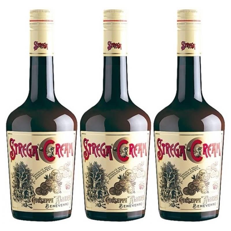 Licor Strega Cream 700ml 03 Unidades