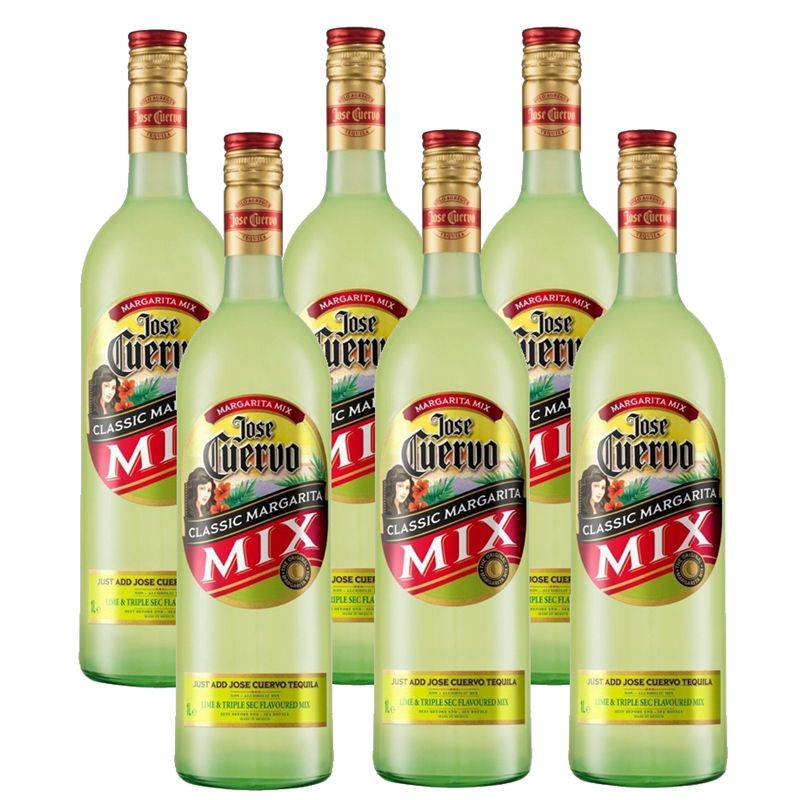 Margarita Mix Jose Cuervo 1 Lt 06 Unidades