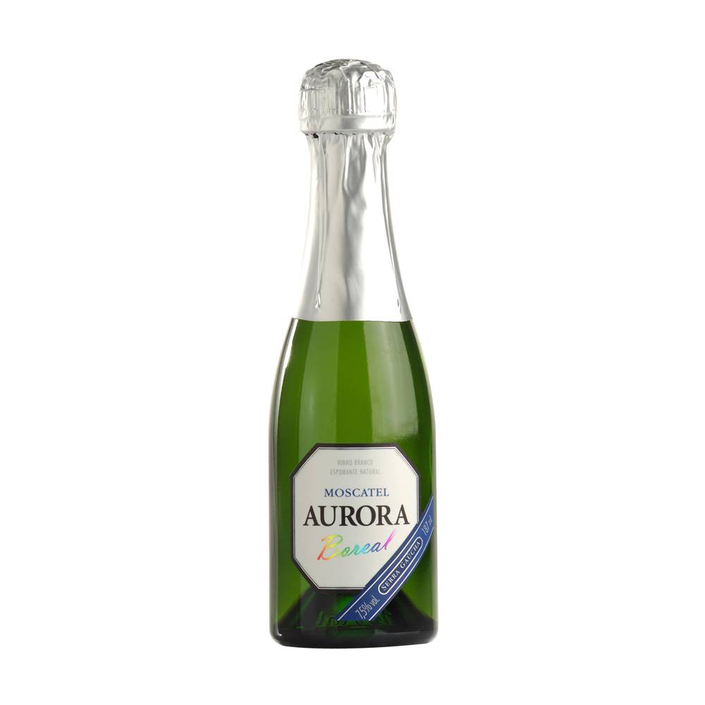 Mini Espumante Aurora Moscatel 187ml