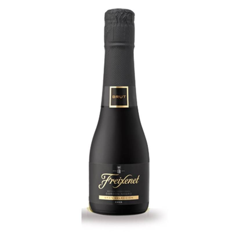 Mini Espumante Freixenet Cordon Negro Brut 200ml 03 un.