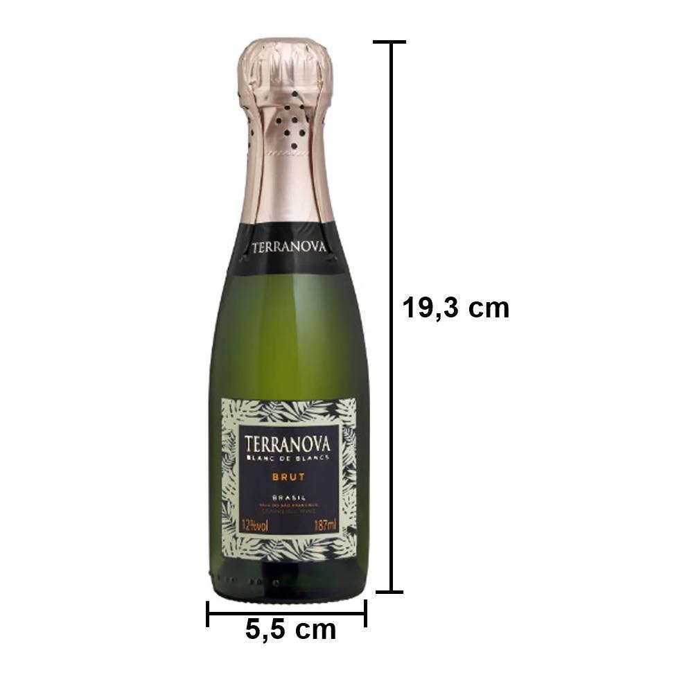 Mini Espumante Miolo Terranova Brut 187ml
