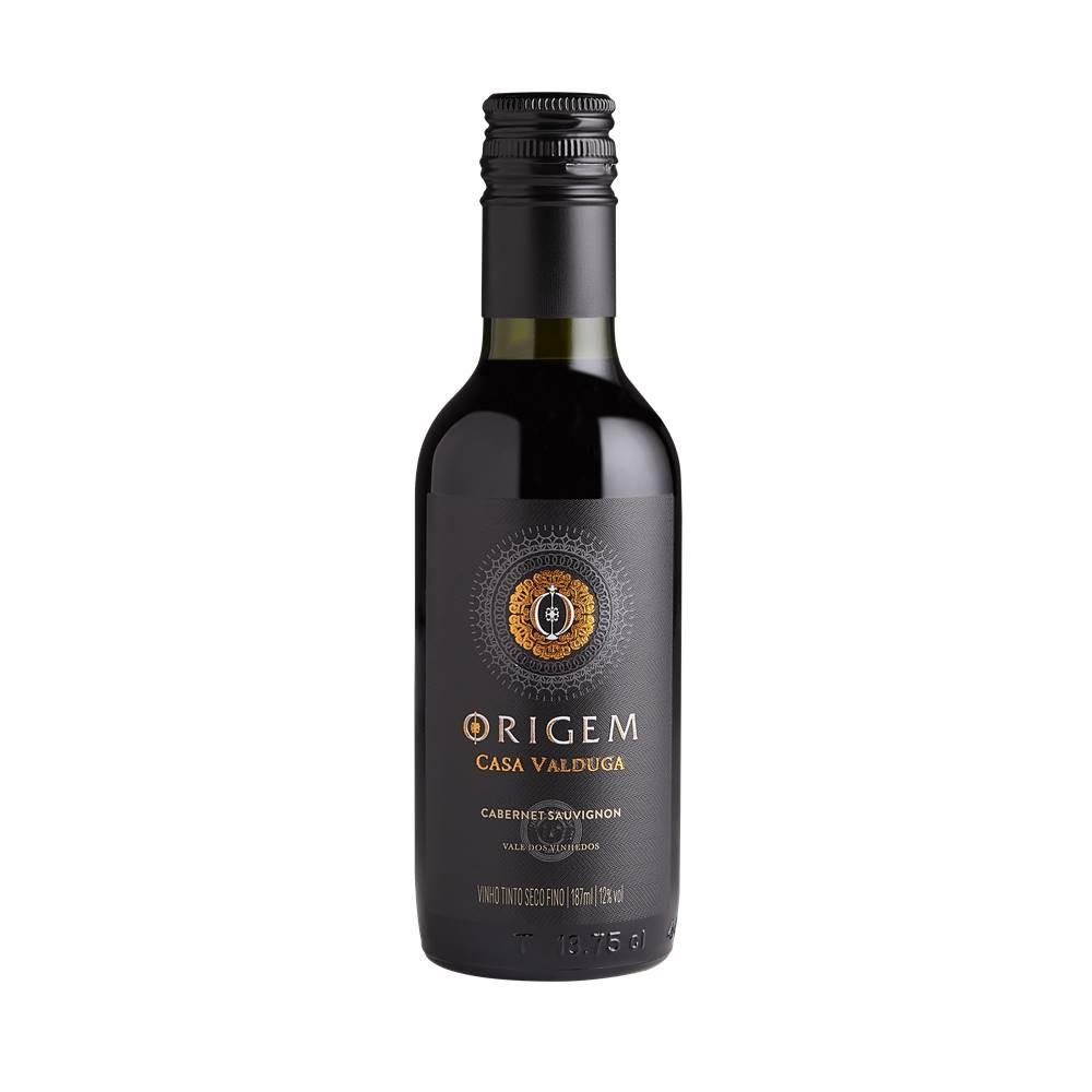 Mini Vinho Casa Valduga Origem Cabernet Sauvignon 187ml