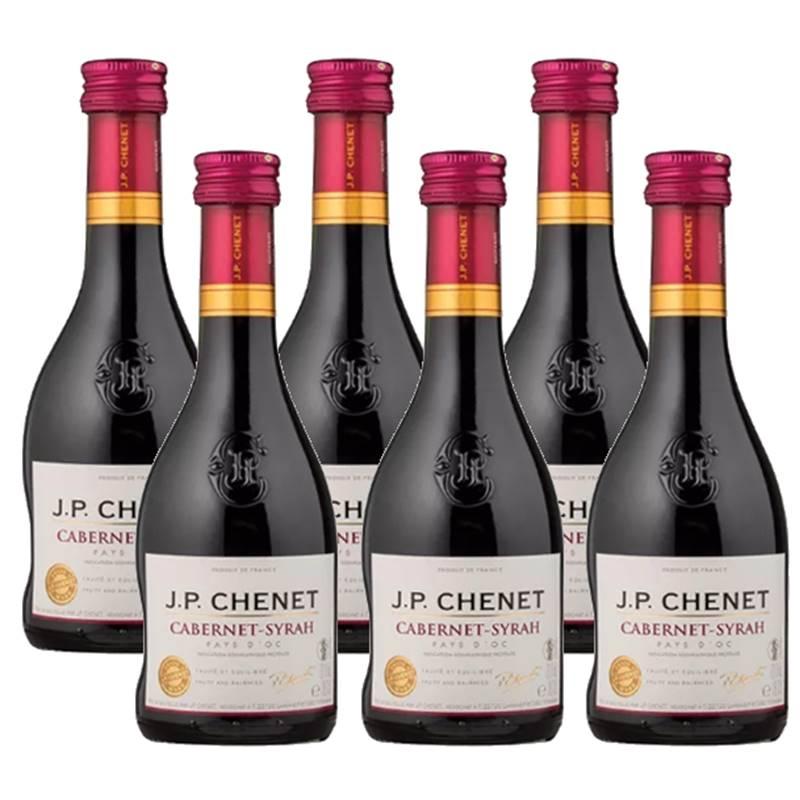 Mini Vinho Jp Chenet Cabernet-syrah 187ml 06 Unidades
