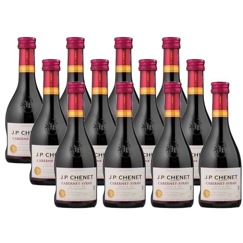 Mini Vinho Jp Chenet Cabernet-syrah 187ml 12 Unidades