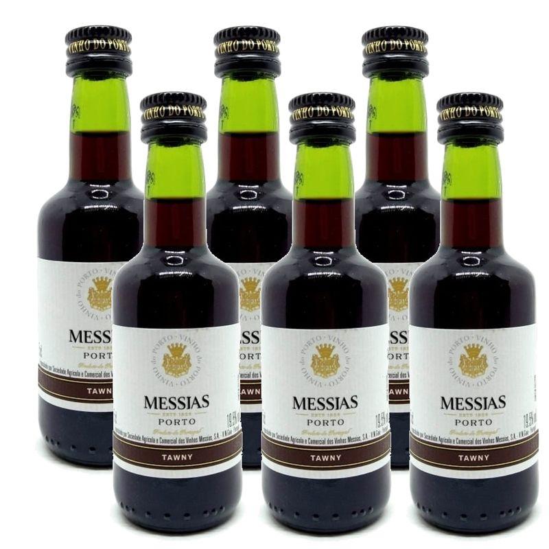 Miniatura Mini Vinho Do Porto Messias Tawny 50ml 06 Unidades