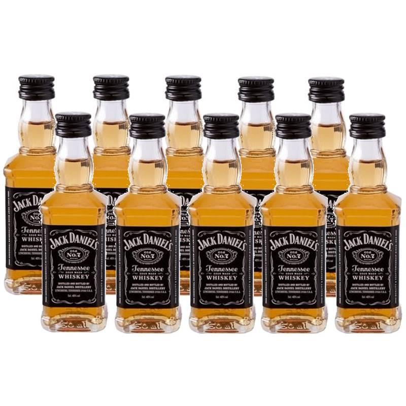 Miniatura Mini Whisky Jack Daniel's 50ml 10 Unidades