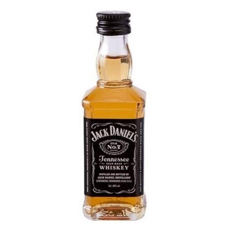 Miniatura Mini Whisky Jack Daniel's 50ml 12 Unidades