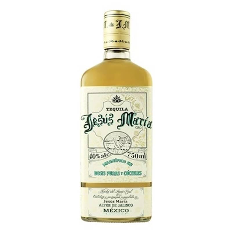 Tequila Jesus Maria Ouro 750ml 03 Unidades