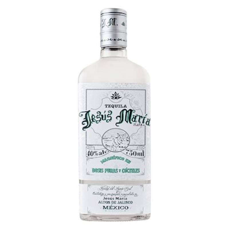 Tequila Jesus Maria Prata 750ml 03 Unidades