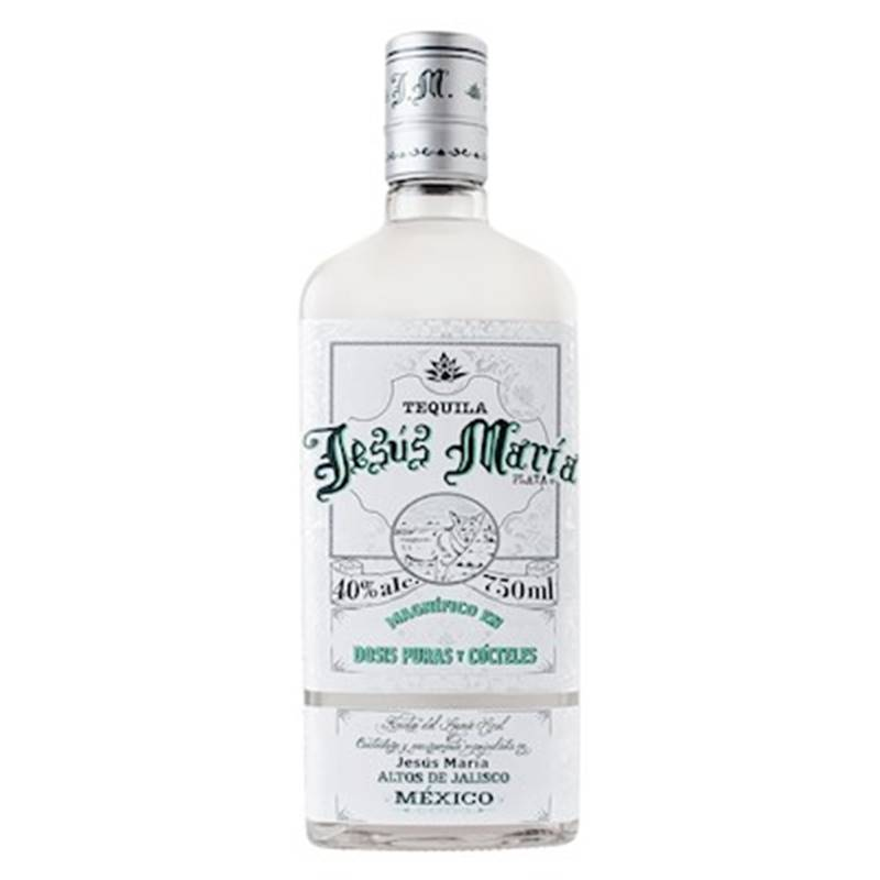 Tequila Jesus Maria Prata 750ml 06 Unidades