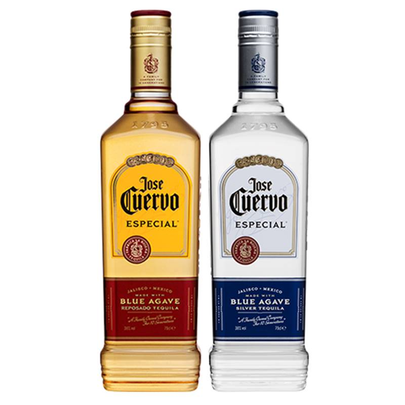Tequila Jose Cuervo Ouro 750ml + Jose Cuervo Prata 750ml