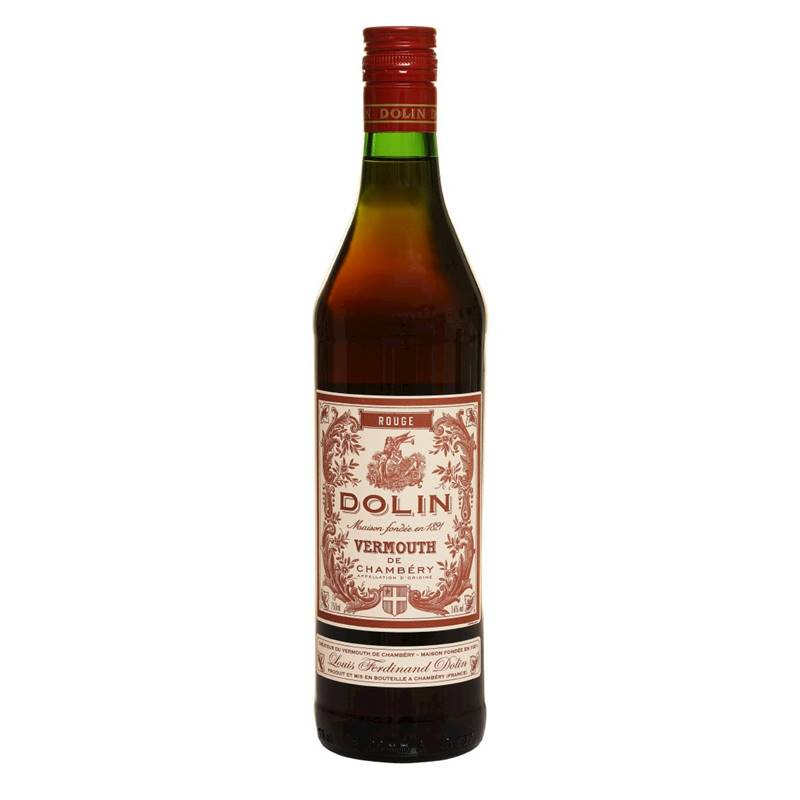 Vermouth Vermute Dolin Rouge 750ml 03 Unidades