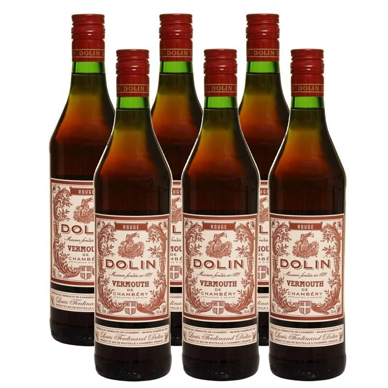 Vermouth Vermute Dolin Rouge 750ml 06 Unidades