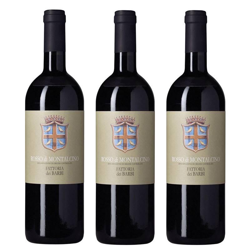 Vinho Barbi Rosso Di Montalcino 750ml 03 Unidades