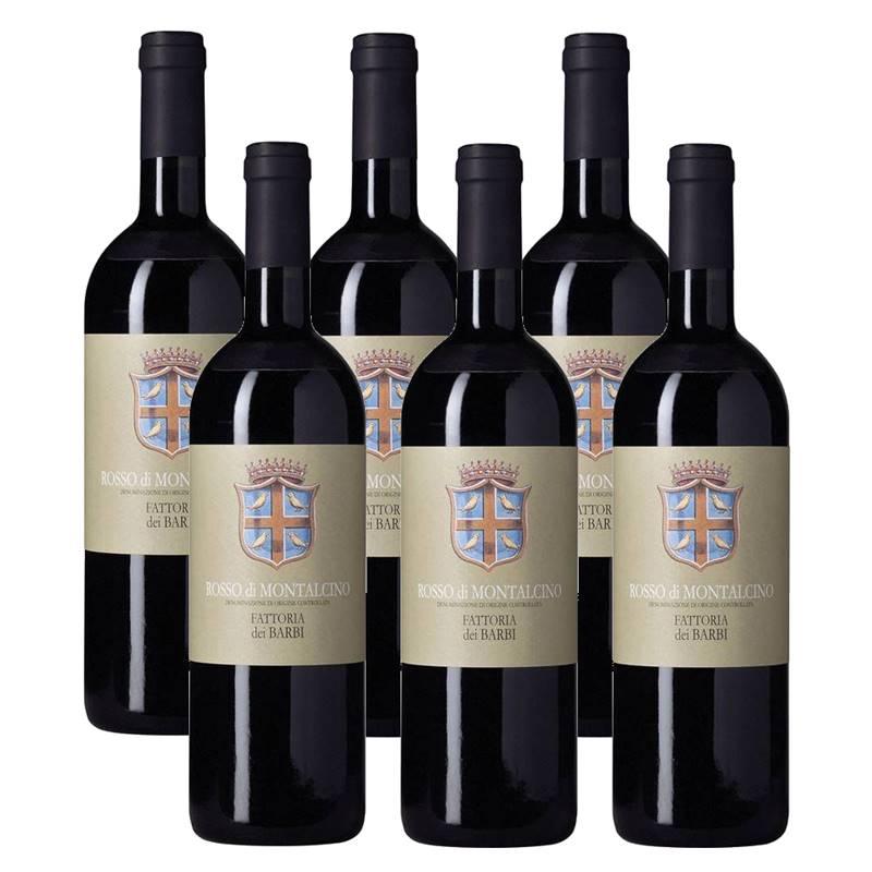 Vinho Barbi Rosso Di Montalcino 750ml 06 Unidades