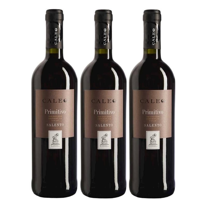 Vinho Caleo Primitivo Di Salento 750ml 03 Unidades