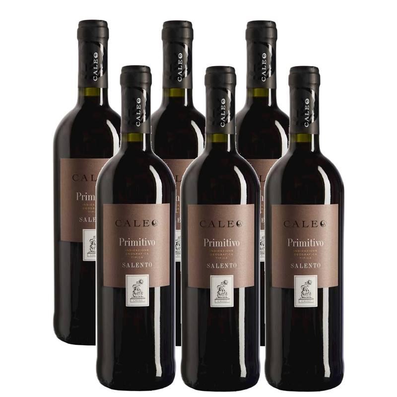 Vinho Caleo Primitivo Di Salento 750ml 06 Unidades