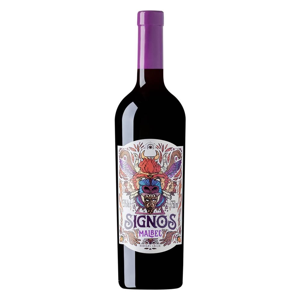 Vinho Callia Signos Malbec 750ml