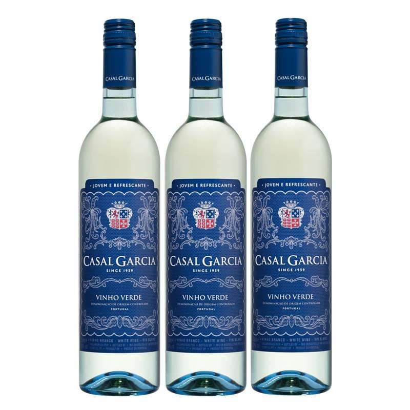 Vinho Casal Garcia Branco 750ml 03 Unidades
