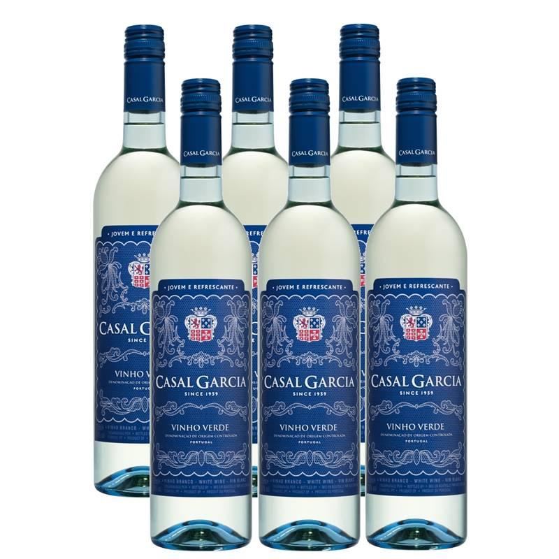 Vinho Casal Garcia Branco 750ml 06 Unidades