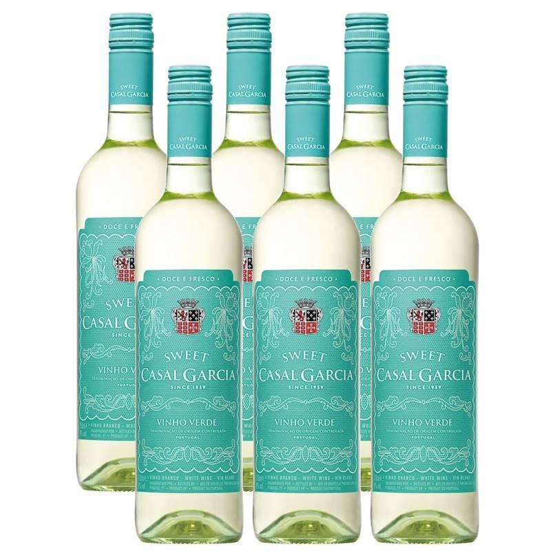 Vinho Casal Garcia Sweet Branco Suave 750ml 06 Unidades