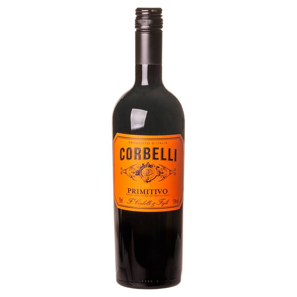 Vinho Corbelli Primitivo IGT 750ml