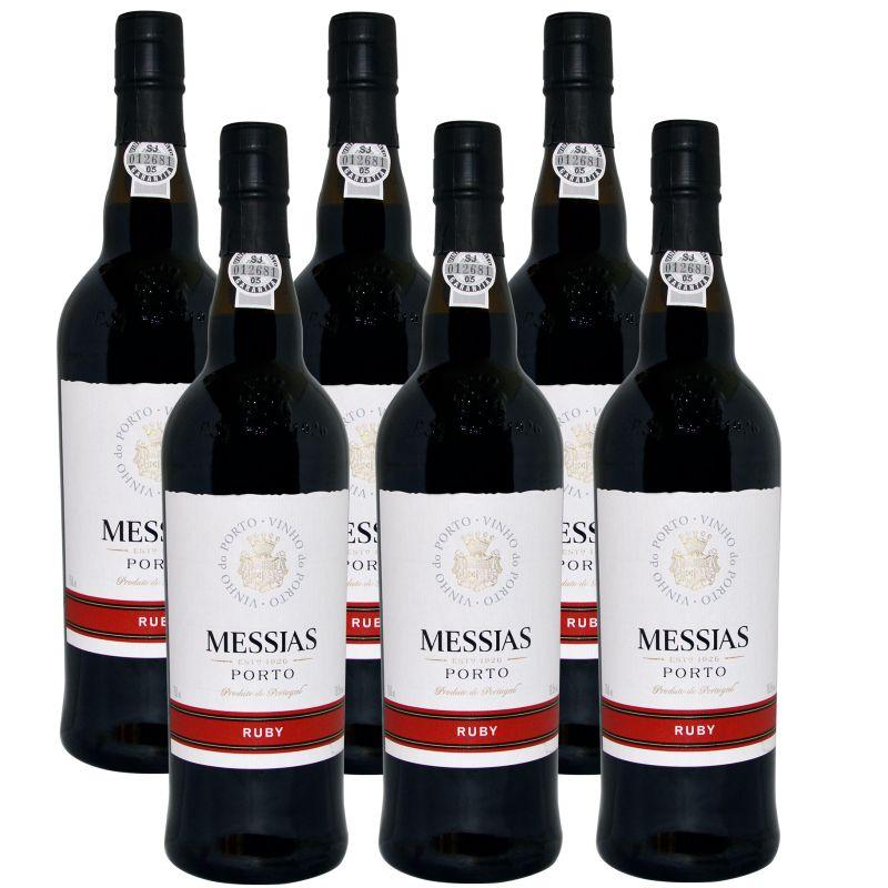 Vinho Do Porto Messias Ruby 750ml 06 Unidades