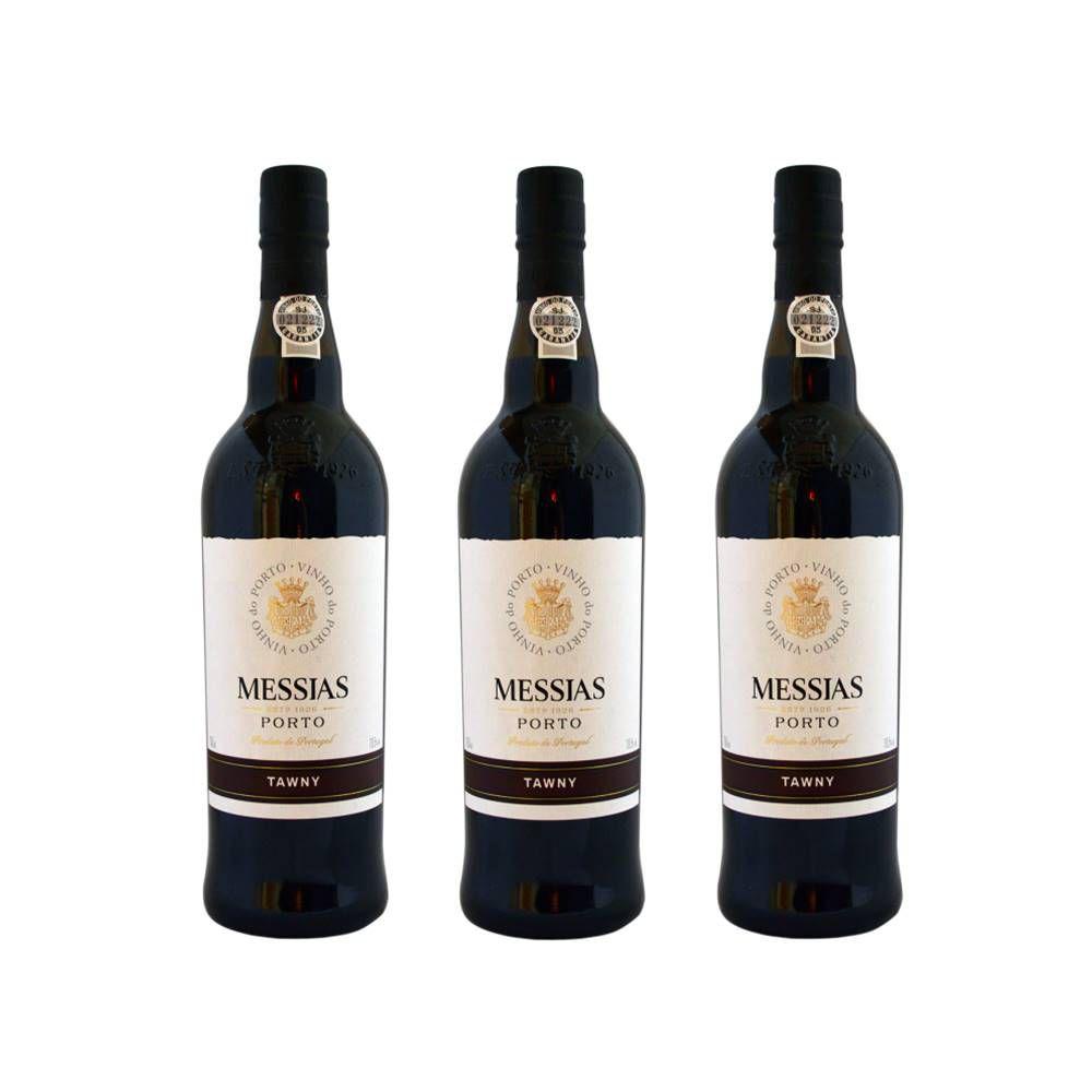 Vinho Do Porto Messias Tawny 375ml 03 Unidades