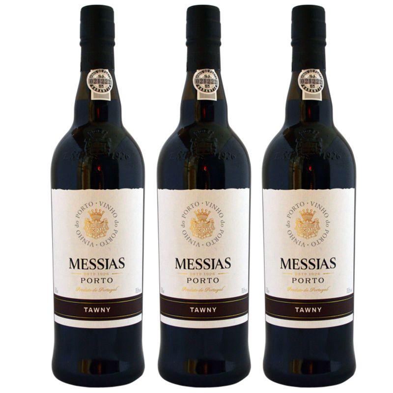 Vinho Do Porto Messias Tawny 750ml 03 Unidades