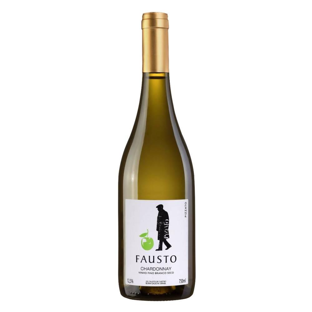Vinho Fausto de Pizzato Chardonnay 750ml