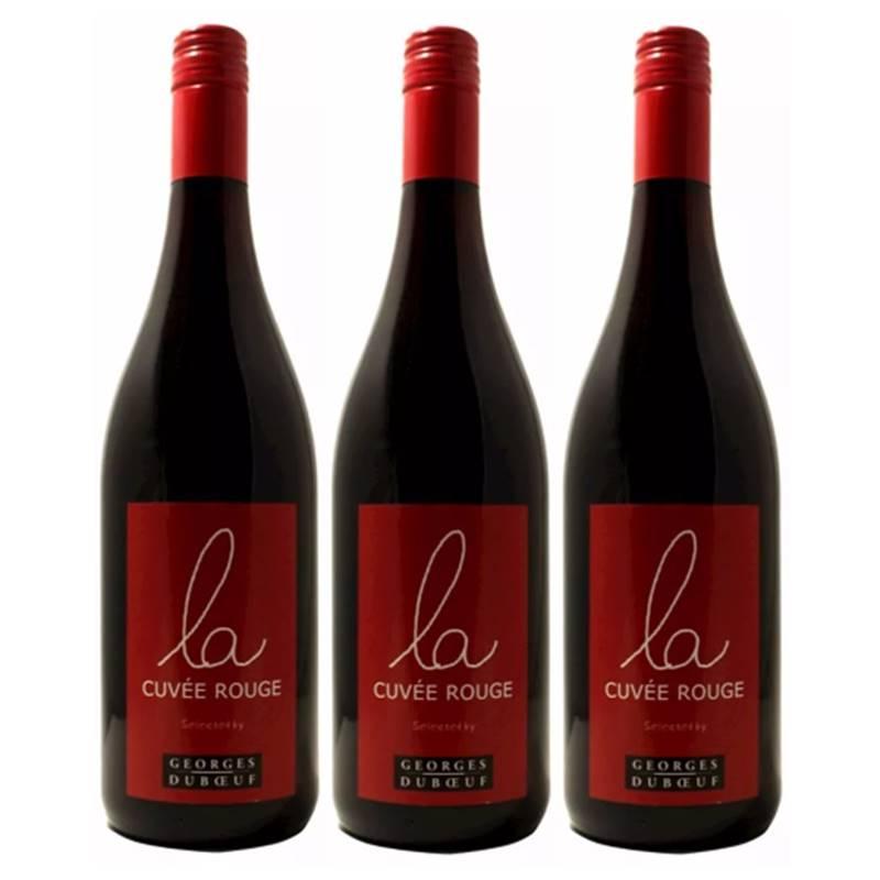 Vinho Francês Georges Duboeuf La Cuvee Rouge 750ml 03 Unid.