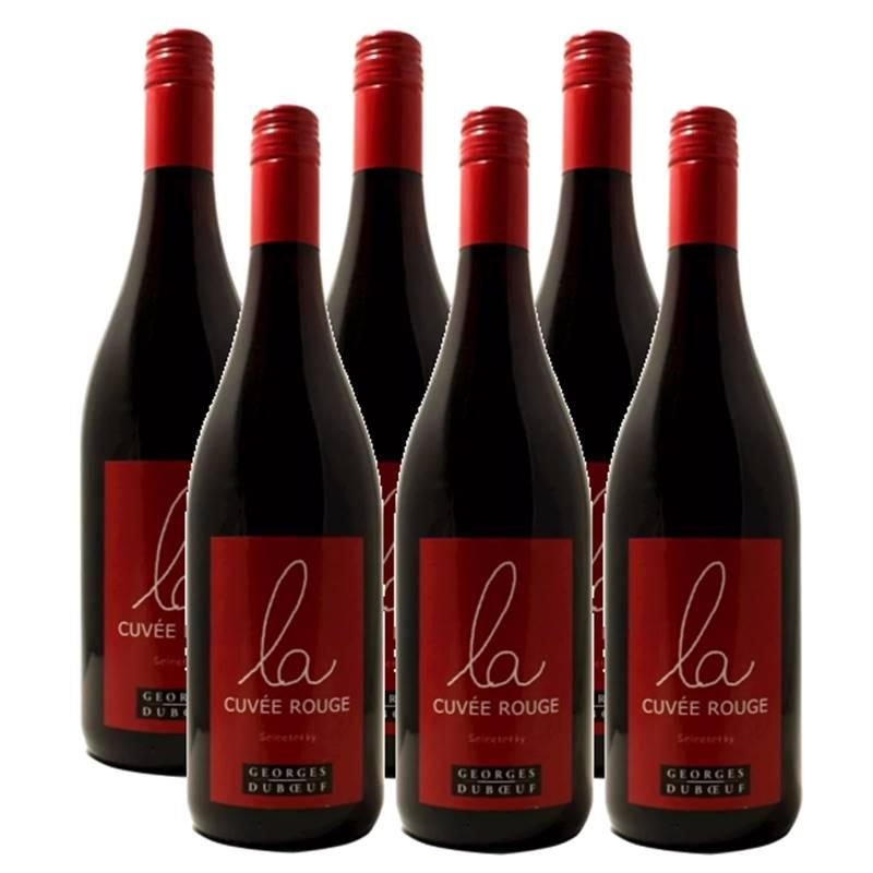 Vinho Francês Georges Duboeuf La Cuvee Rouge 750ml 06 Unid.