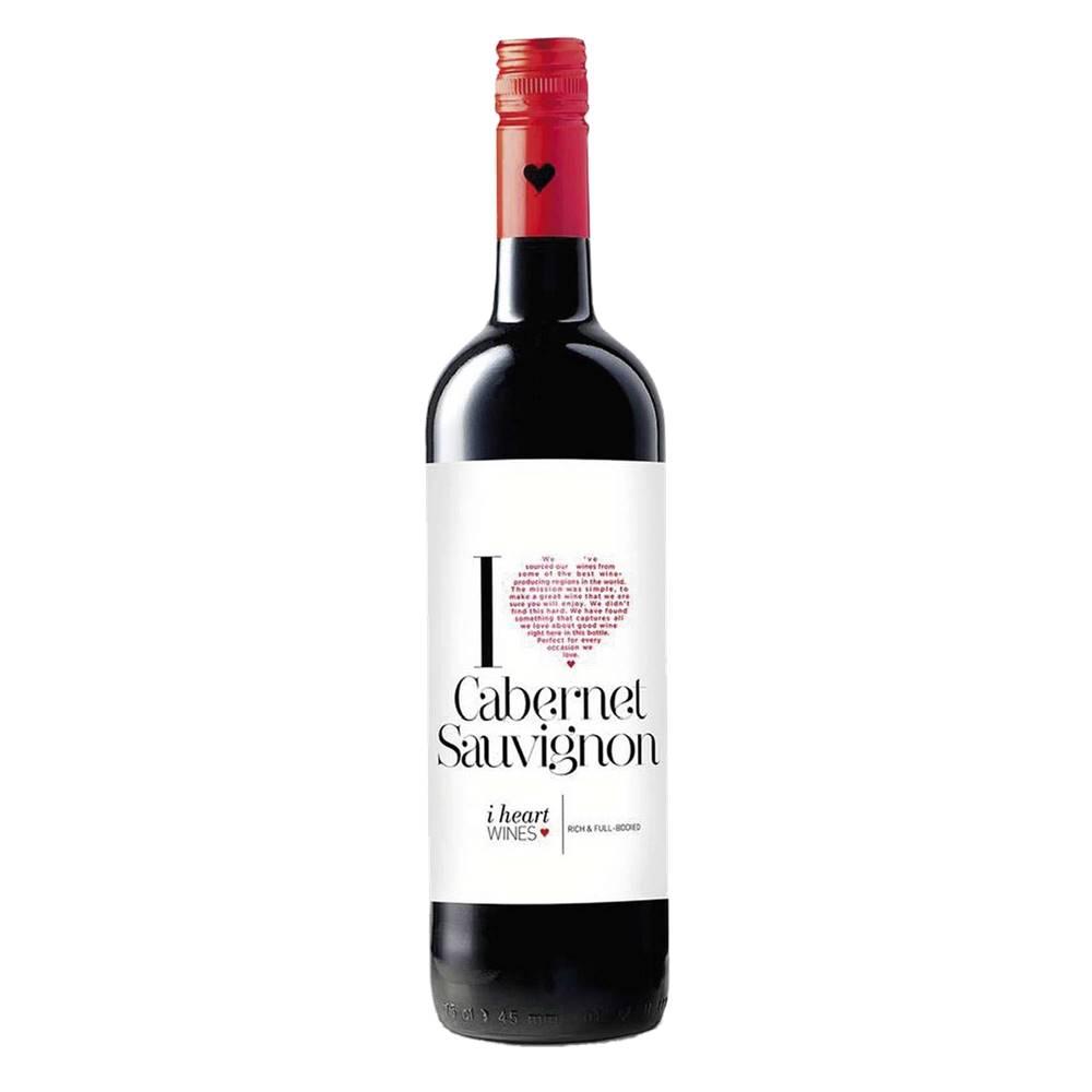 Vinho I Heart Cabernet Sauvignon 750ml