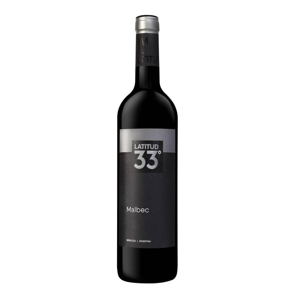 Vinho Latitud 33 Malbec 750ml