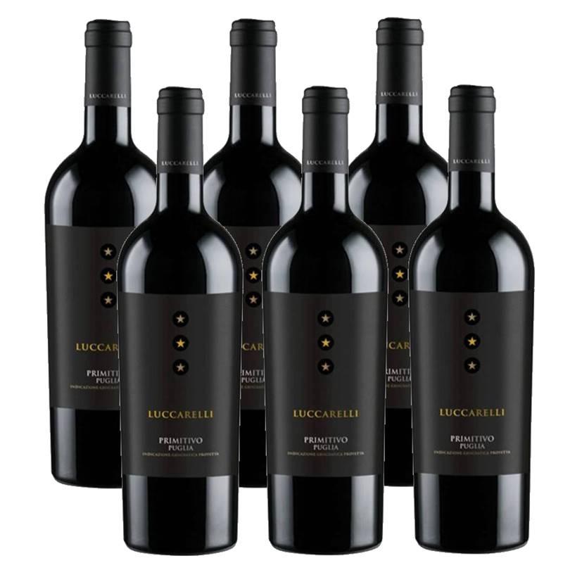 Vinho Luccarelli Primitivo 750ml 06 Unidades