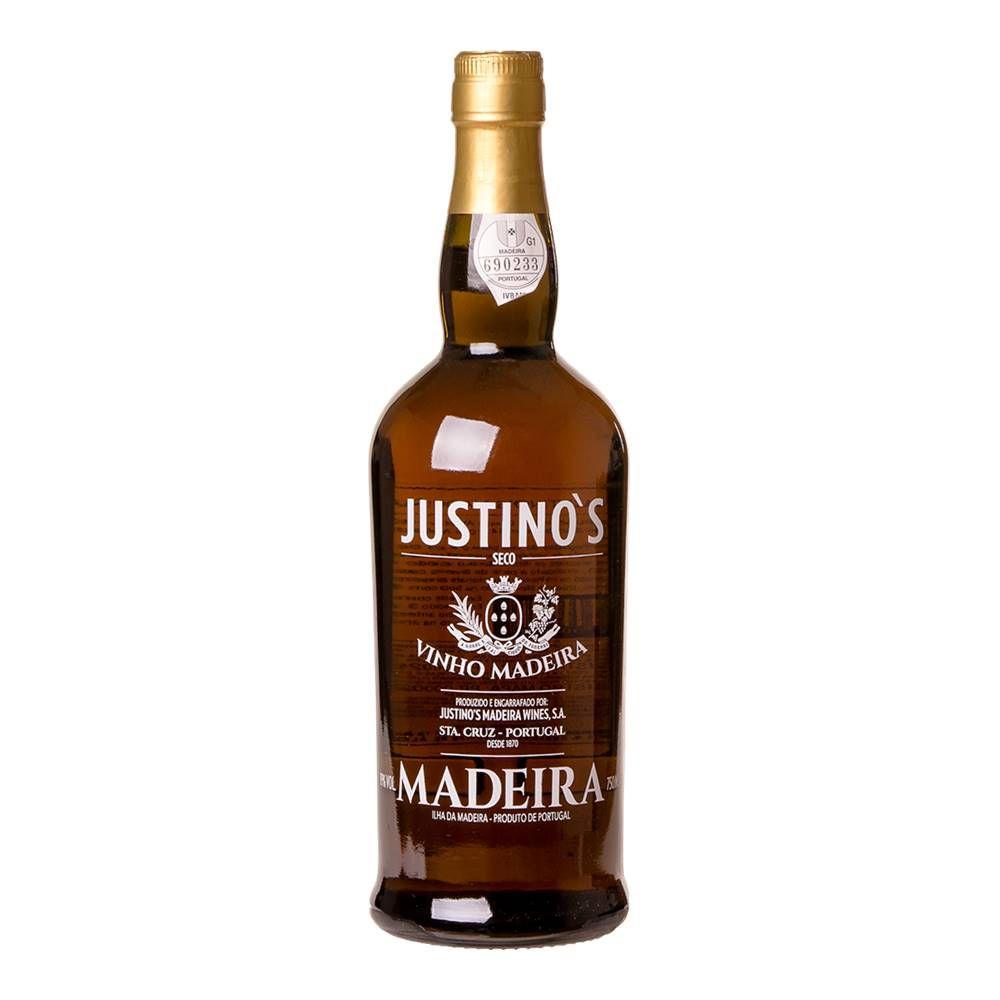 Vinho Madeira Justinos 3 Anos Seco 750ml