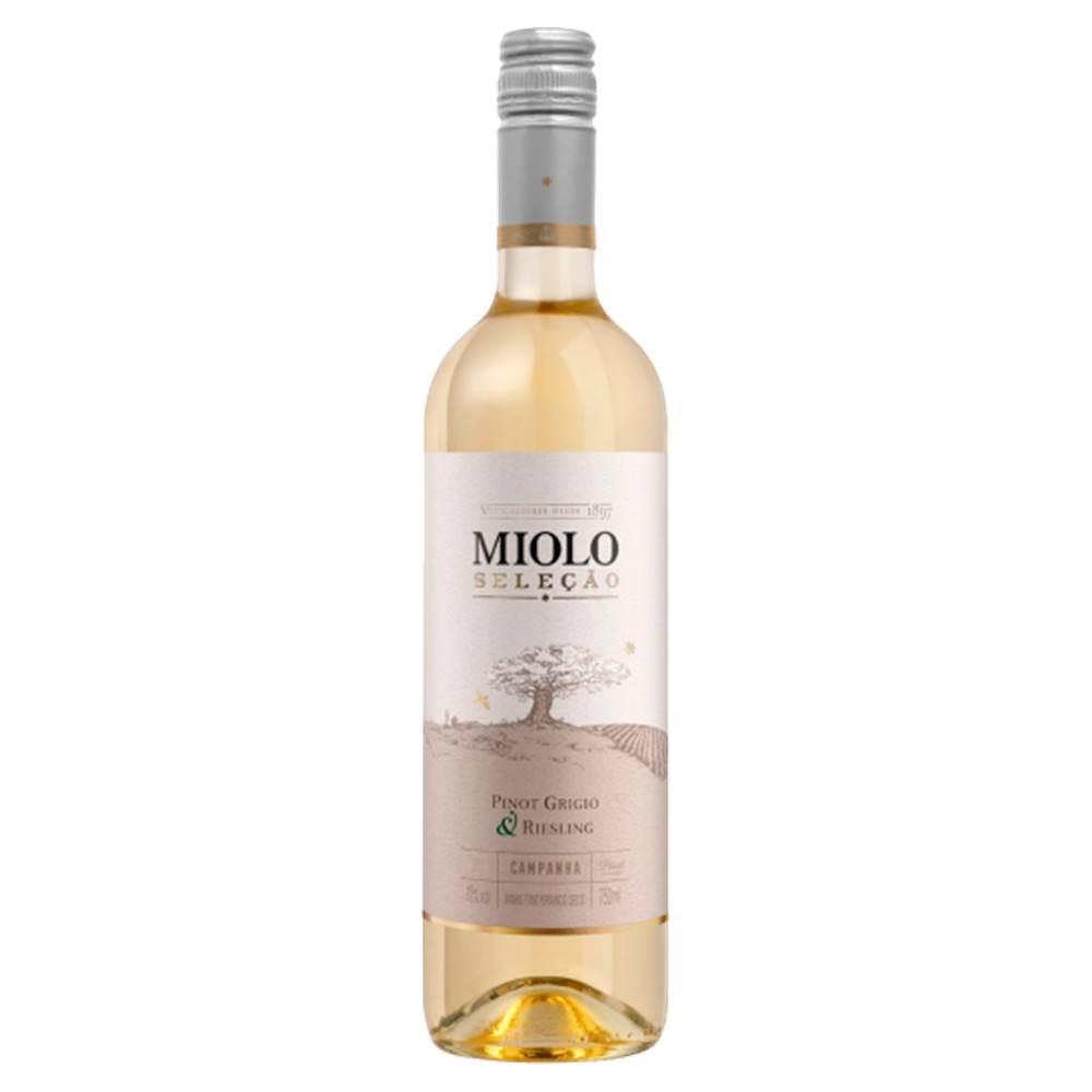Vinho Miolo Seleção Pinot Grigio e Riesling 750ml