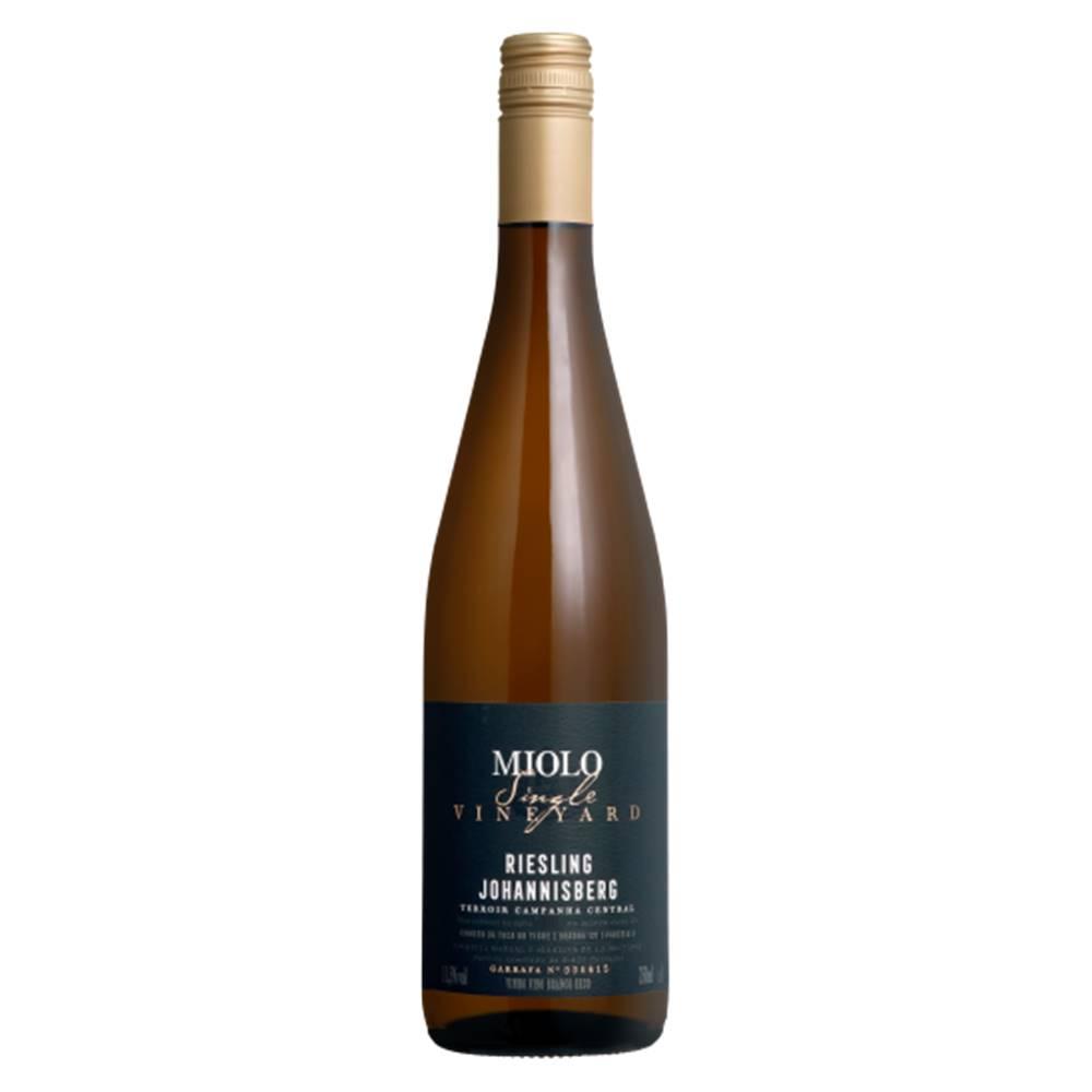 Vinho Miolo Single Vineyard Riesling Johannisberg 750ml
