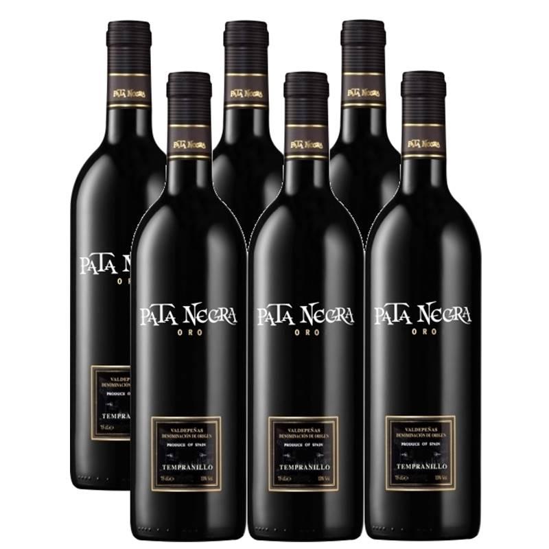 Vinho Pata Negra Oro Tempranillo 750ml 06 Unidades