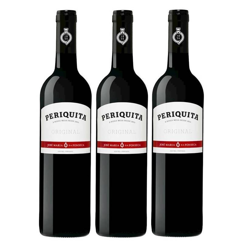 Vinho Periquita Original 750ml 03 Unidades