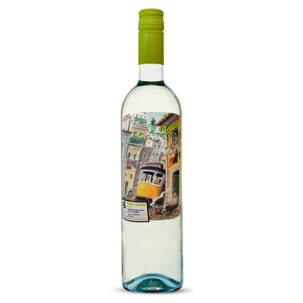 Vinho Porta 6 Branco Vinho Verde DOC 750ml