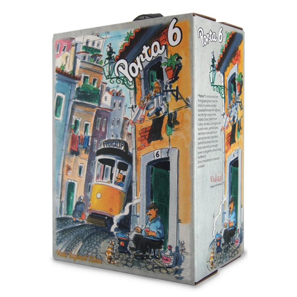 Vinho Porta 6 Tinto Bag In Box 3 Litros