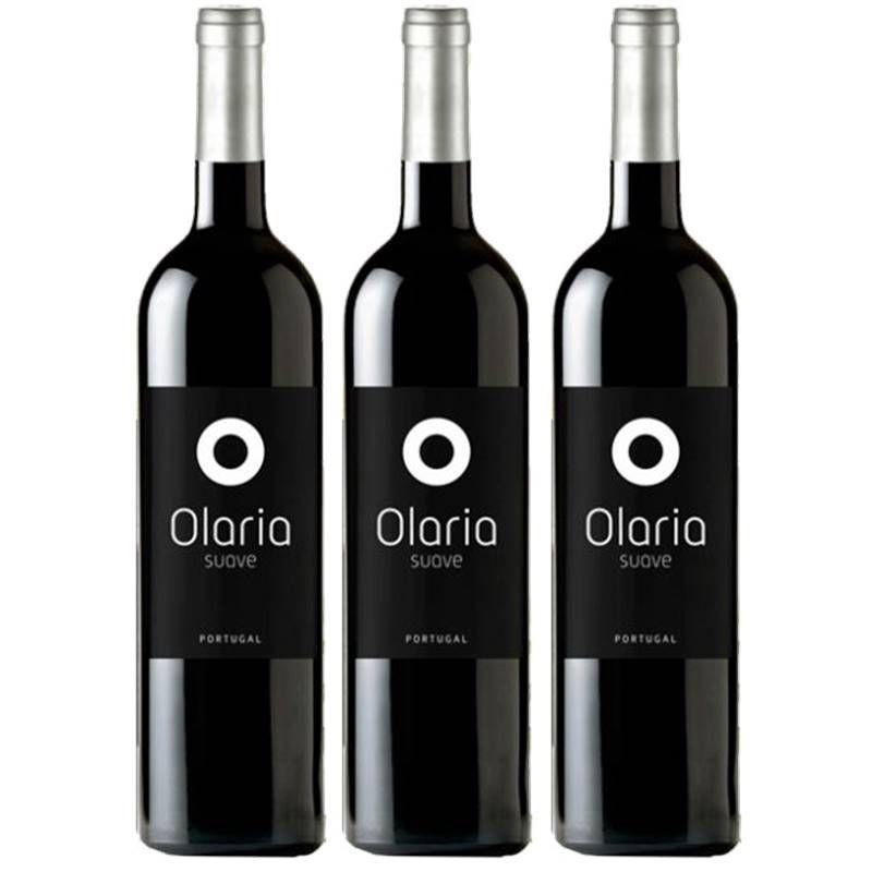 Vinho Português Olaria Tinto Suave 750ml 03 Unidades