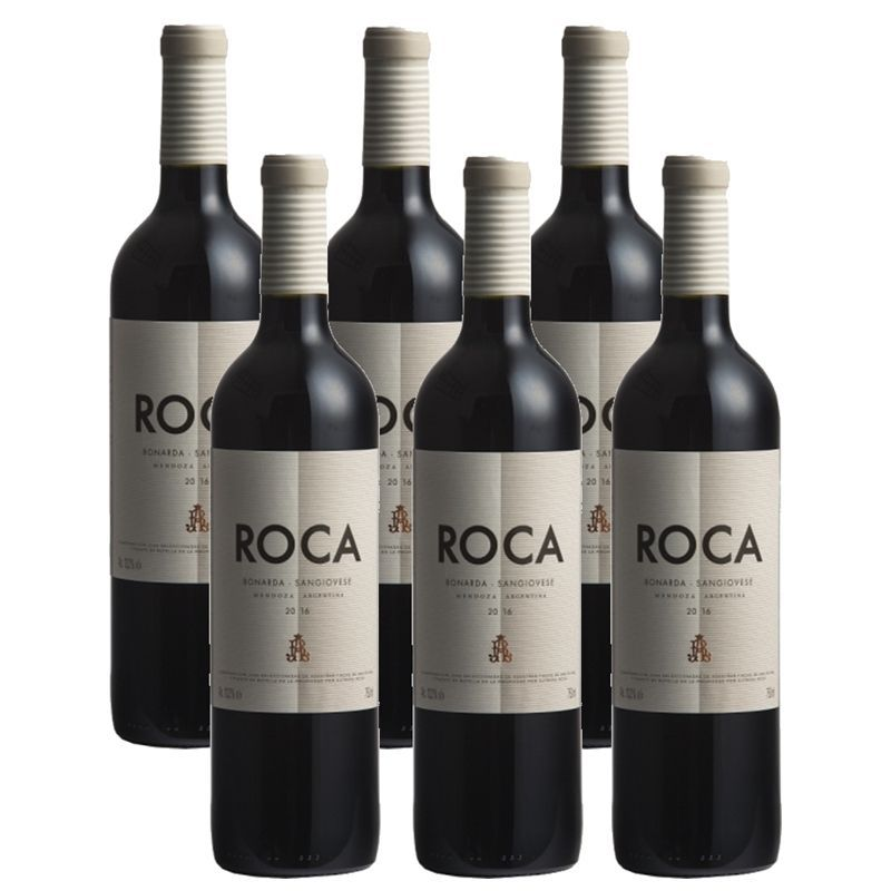 Vinho Roca Bonarda Sangiovese 750ml 06 Unidades