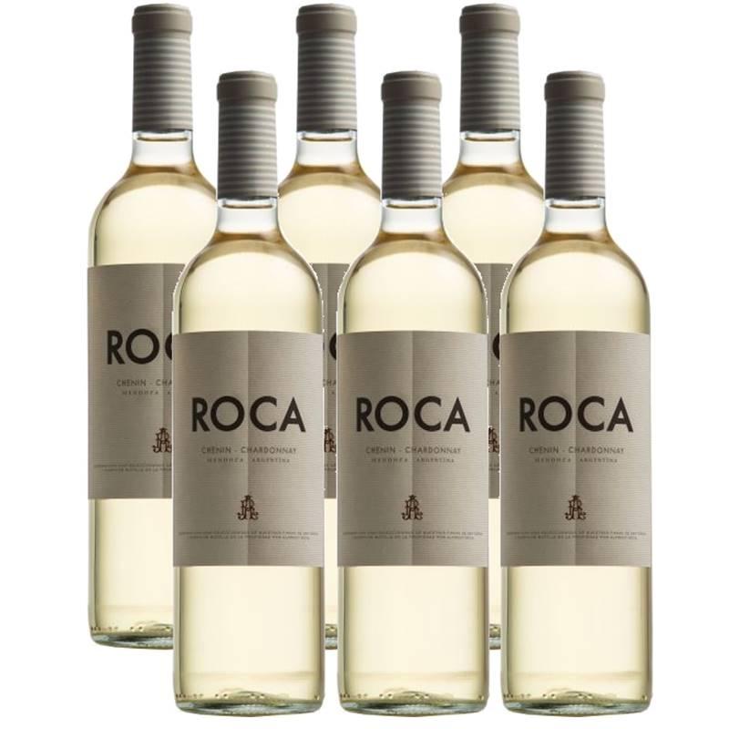Vinho Roca Chenin Chardonnay Branco 750ml 06 Unidades