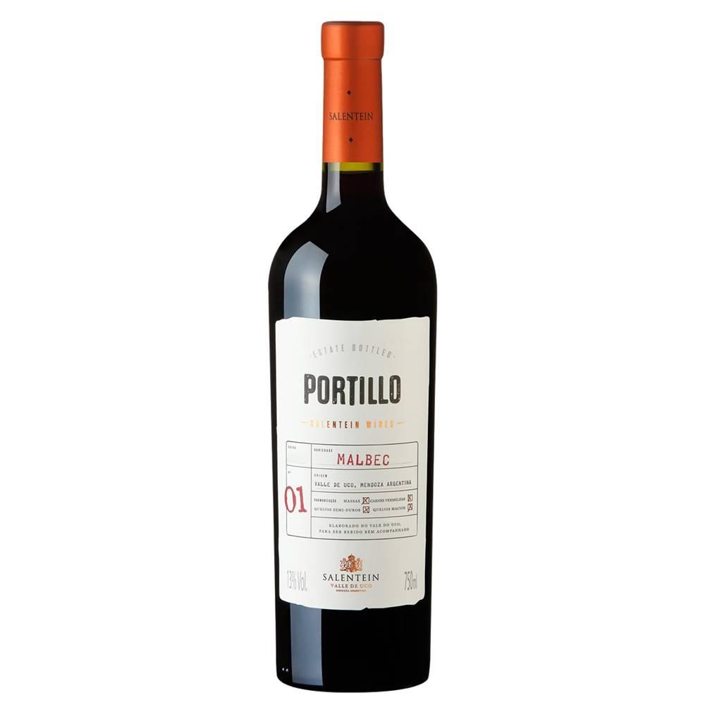 Vinho Salentein Portillo Malbec 750ml