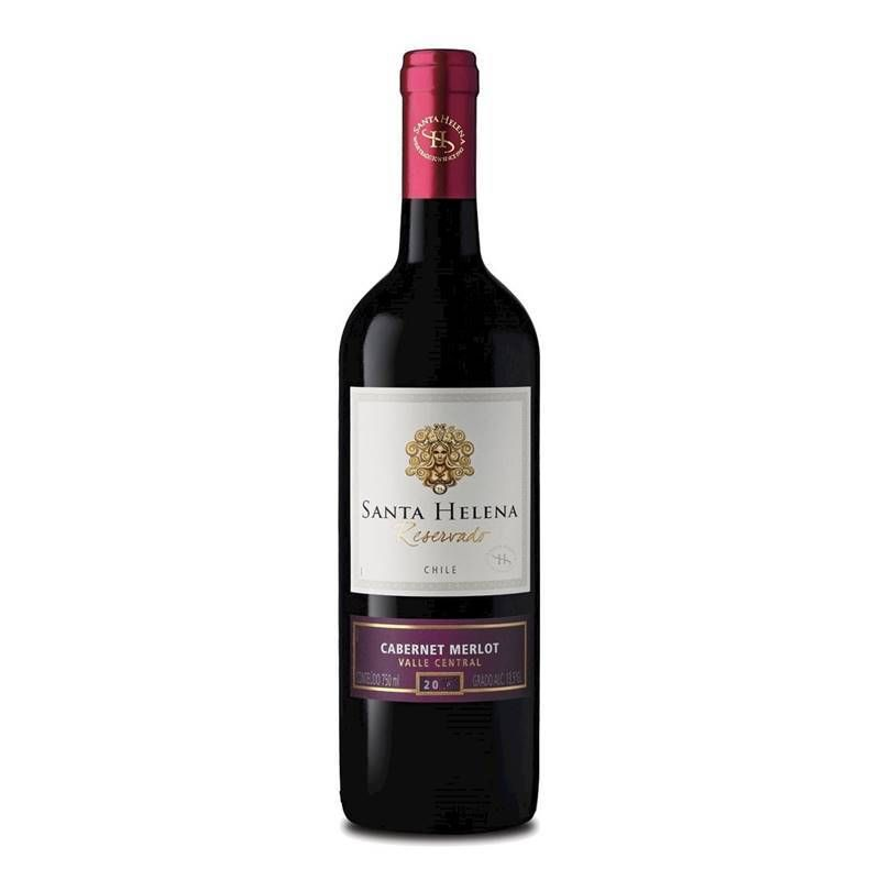 Vinho Santa Helena Reservado Cabernet - Merlot 750ml 03 Unid