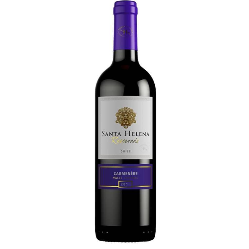 Vinho Santa Helena Reservado Carmenere 750ml 03 Unidades